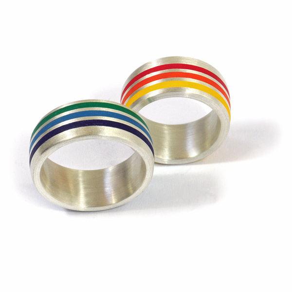 Partnerringe Silber Colorit (1007382)